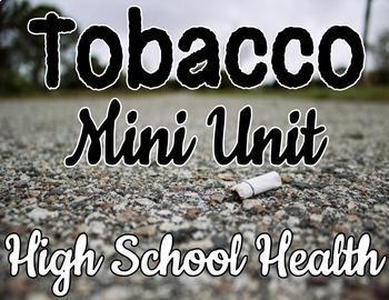 Tobacco Powerpoint BUNDLE -- Fully editable