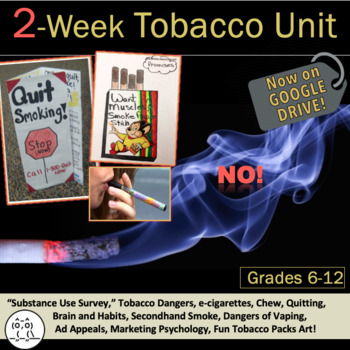 Tobacco Lessons: Get 10 Lessons in This Creative Way to Teach Your Tobacco Unit!