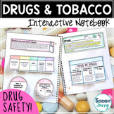 Tobacco and Drugs Prevention Unit Interactive Notebook