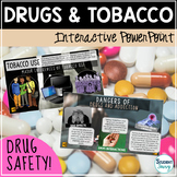 Tobacco and Drugs Prevention Unit Interactive PowerPoint - Google Slides