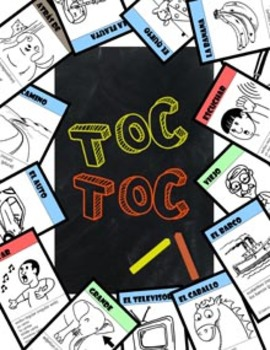Toc Toc Spanish learning card game (Preview)