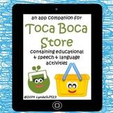 Literacy Language App Companion for Toca Boca Store