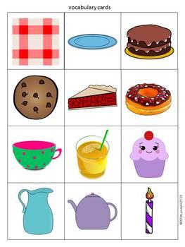 Toca Boca Tea Party: app companion for literacy & language