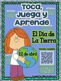 ¡Toca, Juega y Aprende! Juegos/Centros lectura c/ vocabulario Día de la tierra