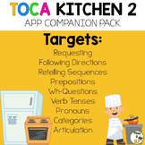 Toca Kitchen 2 App Companion Pack