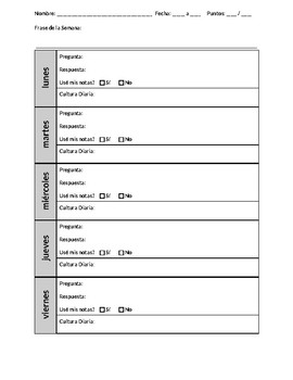 Tocatimbre - Bell Ringer - Answer Sheet