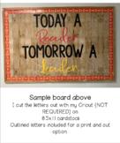 Today A Reader Tomorrow A Leader Bulletin Board Kit