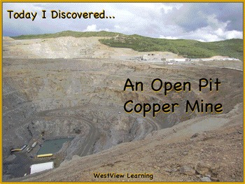 Today I Discovered An Open Pit Copper Mine