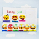 Today I Feel - Emotions Activity - Autism Learning - SEN - ADHD - Visual Learner