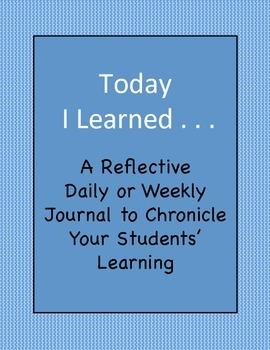 Today I Learned - A Reflective Student Journal