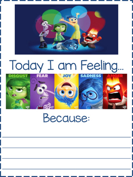 Today I am feeling..