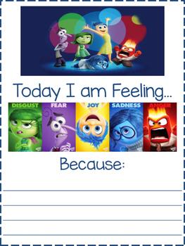 Today I am feeling..