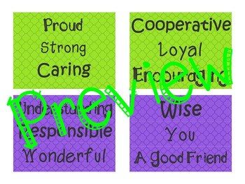 BE Growth Mindset and Motivational Inspirational Bulletin Board Classroom Decor