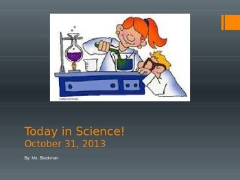 Today In Science - Weekly Science Report