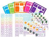 Today Is....5 Mats, Cards, Labels. Preschool-Kindergarten