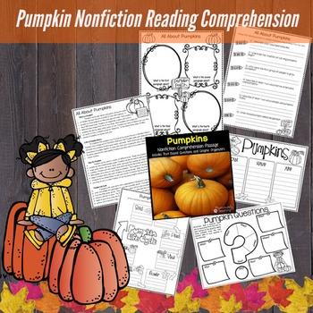 Pumpkin Reading Passage Nonfiction Text & Questions