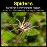 Spider Reading Passage Nonfiction Text & Questions