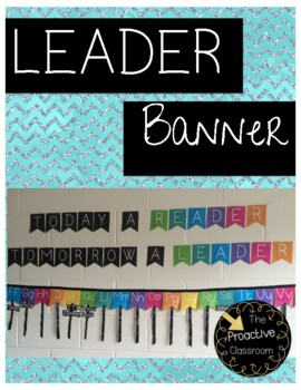 Today a Reader Tomorrow a Leader Banner