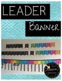 Today a Reader Tomorrow a Leader Rainbow Banner   Classroom Decor   Library