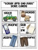 {Today and the Past} Sorting Cards Social Studies for Kindergarten