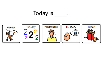 Today at Preschool - Powerpoint for Reflection, Home Communication