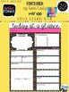Daily Planning [Today at a Glance] *5* EDITABLE Templates