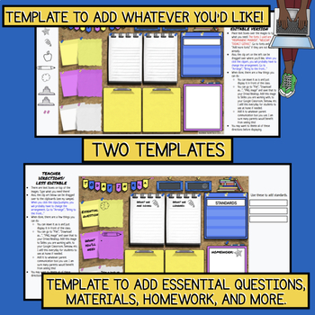 Today in E.L.A.: Google Template for Essential Question, Standards, and More