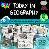 Today in Geography - Whole Year Bundle