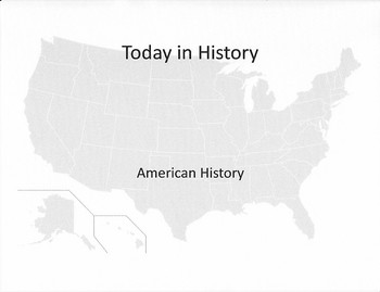 Today in History (American History)