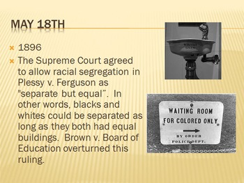 Today in History Bell Ringer - May