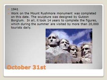 Today in History Bell Ringer - October