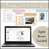 Today in History | History Bellringer | Distance Learning
