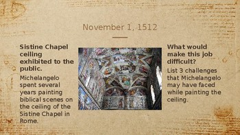 Today in World History Warm Ups - November