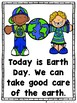 Today is Earth Day  (An Sight Word Emergent Reader and Colored Teacher Lap Book)