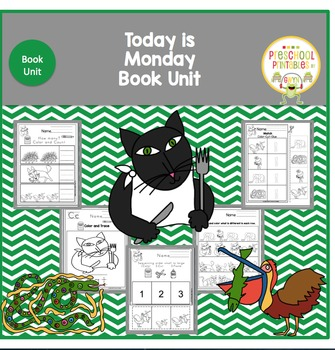 Today is Monday by Eric Carle Book Unit