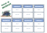 Today is Monday - Sequencing worksheet