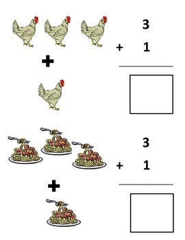 Today is Monday Simple Addition Problems