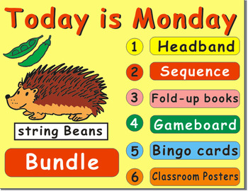 Today is Monday by Eric Carle: Bundle Resources