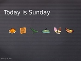 Today is Sunday Song Book