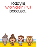 Today is Wonderful - Wizard of Oz