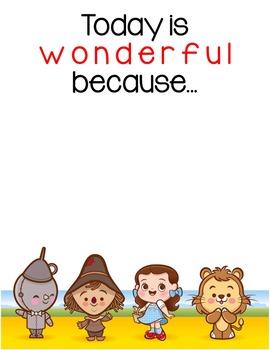 Today is Wonderful - Wizard of Oz