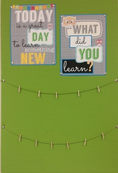 Today is a Great Day to Learn! {printables and bulletin board idea!}
