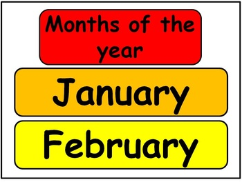 Today is... day, month, date kit!