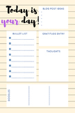 Today is your day planner