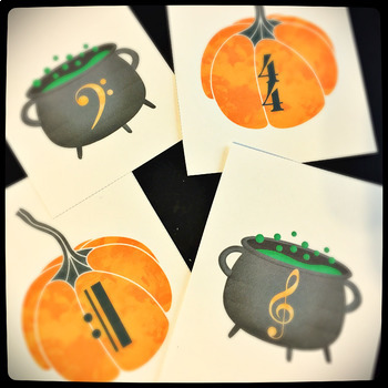 Halloween Cards and bonus Musical Flashcards