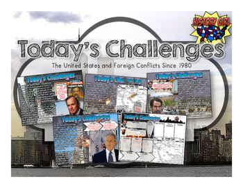 Today's Challenges: U.S. Foreign Policy 1990-Today PowerPoint and Infographic