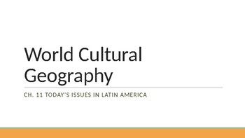 Today's Issues Latin America