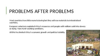 Today's Issues in Africa