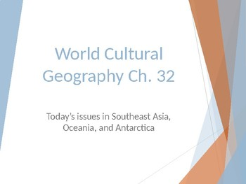 Today's Issues in Southeast Asia, Oceania, and Antarctica