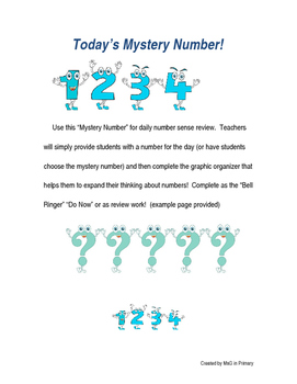 Today's Mystery Number
